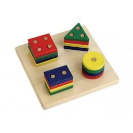 GEOMETRIK BUL SIRALA (GEO.BOARD GAME)