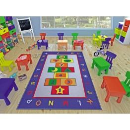 Seksek Oyunlu Çocuk Halısı 200 x 290