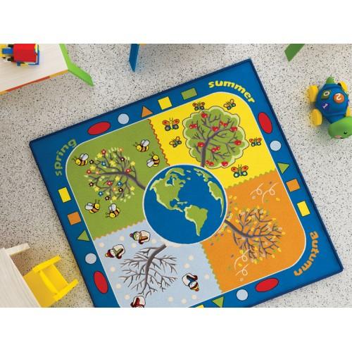Dört Mevsim Çocuk Halısı modelleri, Dört Mevsim Çocuk Halısı fiyatı, anaokulu Oyun Halıları fiyatları, anasınıfı Oyun Halıları modelleri görselleri ve resimleri, anaokulu kreş malzemeleri