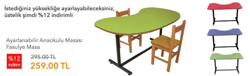 fasulye masa